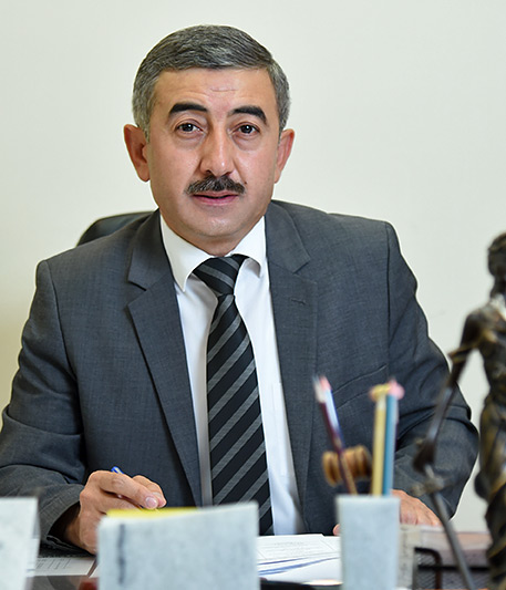 Ulugbek Mukhammadiev Commissioner of the Oliy Majlis of the Republic of Uzbekistan for Human Rights (Ombudsman)