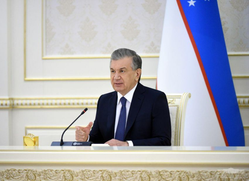 Mr. Shavkat Mirziyoyev,the President of the Republic of Uzbekistan