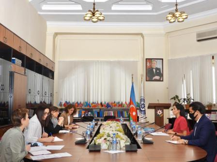 Meeting with ICRC Delegation in Azerbaijan- 29.09. 20